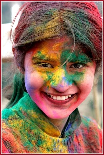 India Cute girl holi me raggi huii