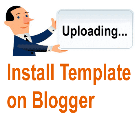 Upload-Install-Template-on-Blogger