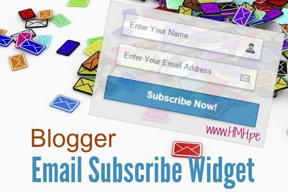 Email Subscribe Widget ko add kare Apne Blogger blog me