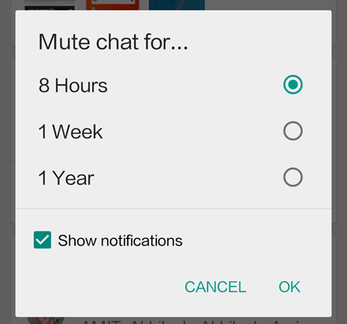 Mute Individual Contact new future in whatsapp Hindi Me Help