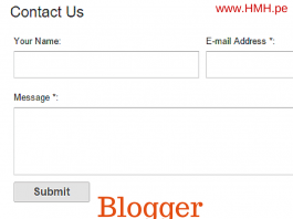 Contact Page Kaise Banate hai Blogger me uski puri jaankari hindi me
