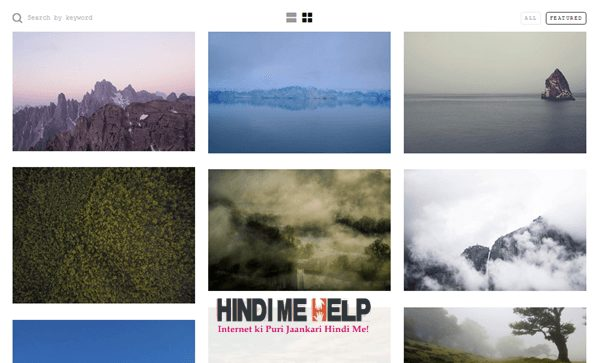 Unsplash se free me Stock Image Download kare