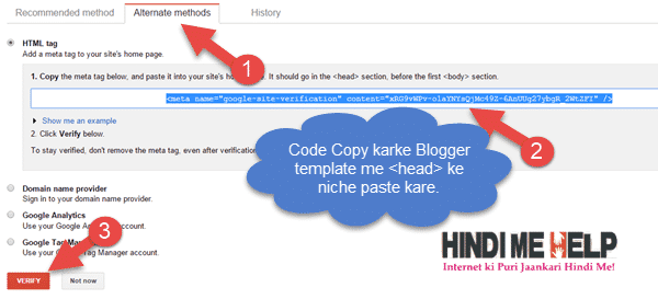 code ko copy karke blogger template me add kare head code ke niche
