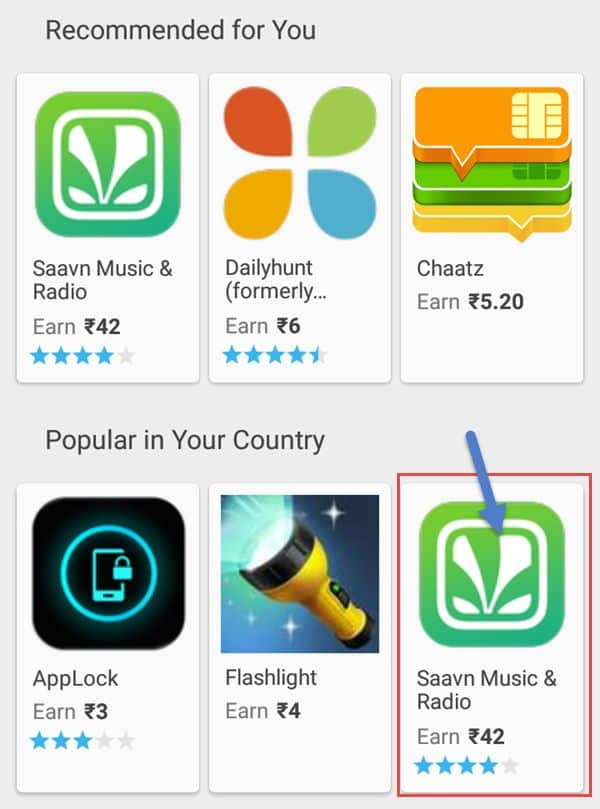 app download ke offer hai unko download karke earning kare