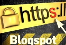 blogspot security badaye https ki madad se