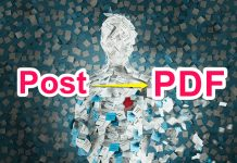 Kisi Bhi Post Ko PDF File Me Kaise Covert Kare [Post To PDF]