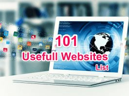 101 Most Usefull Website ki Jankari Hindi Me