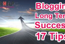 Long Term Blogging Me Success Hone Ke Liye 17 Tips