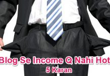 Blog Se Income Karne Me Safal Na Hone Ke Karan 5 Hidden Mistakes