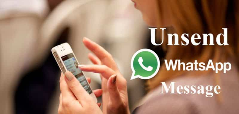 WhatsApp Message Unsend undo kare [New Update]