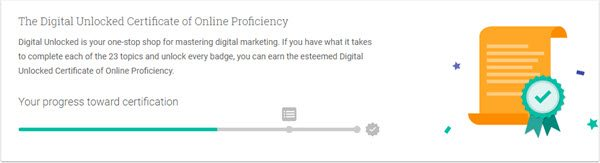 Free Digital Marketing Online Course with Google Certificate