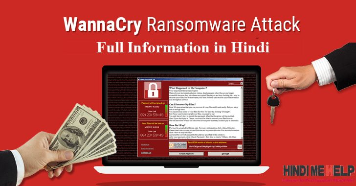 Wanna Cry Ransomware Cyber Attack Kya hai or Kaise Bache