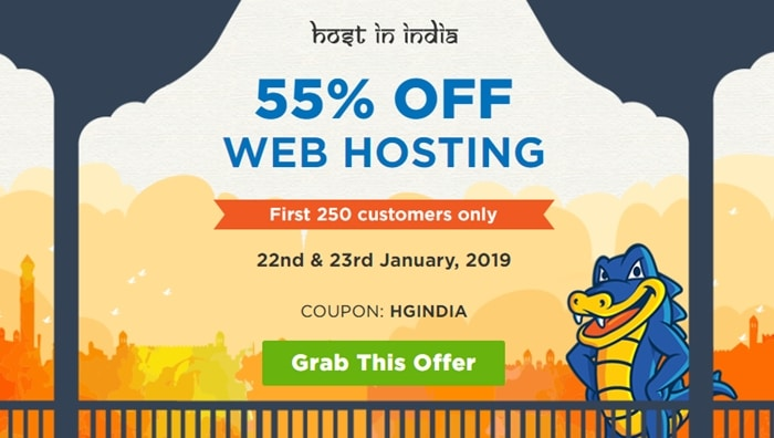 Hostgator Hosting 55% Off Offer Discount Coupon [05-06th March 2019] - tegory%