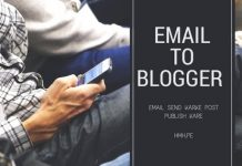 Blogger me Email Send karke Post Publish Kaise Kare