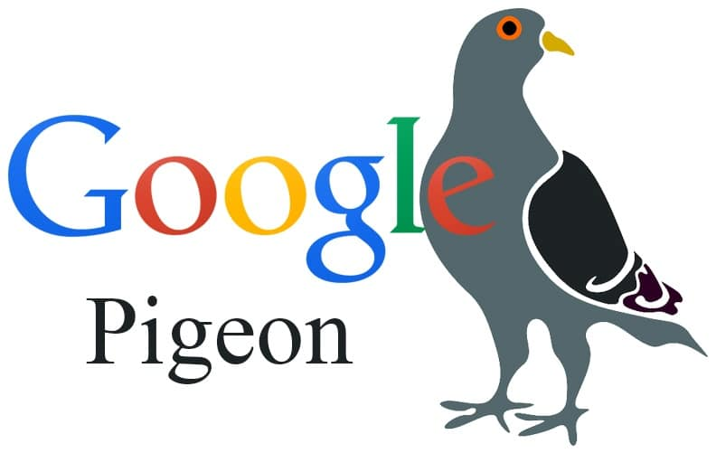 Google Pigeon kya hai hindi me help
