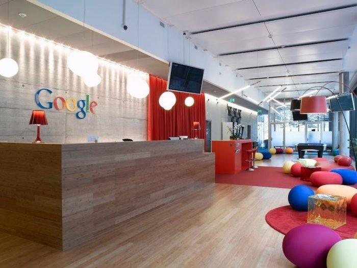 google inside mumbai office