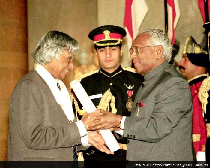 dr kalam bharat ratna award photo