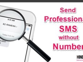 Send Professional SMS without Number with Coustam ID hindime