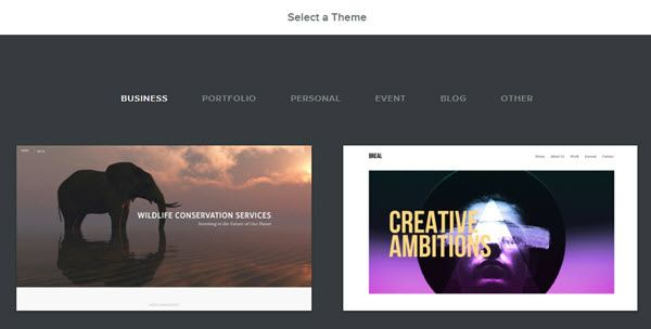 weebly blog theme select kare