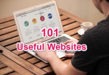 101 Top Useful Website list 2019