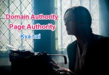 Domain Authority or Page authority kya hota hai