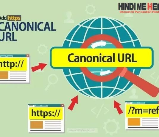 Canonical URL issue
