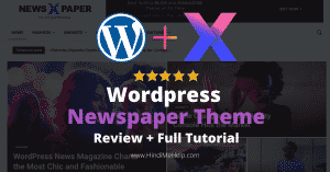 Wordpress Newspaper Theme Review - Sabse Jada Use hone wali Theme? - Wordpress